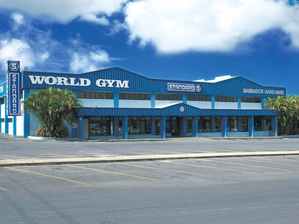 Gym and Shopping Complex
